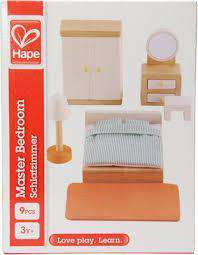 Hape | Dollhouse Additions ~ Master Bedroom