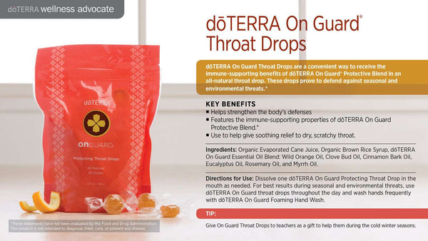 Doterra | On Guard Protecting Throat Drops