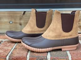 Simply Southern | Slip On Duck Boots ~ Tan