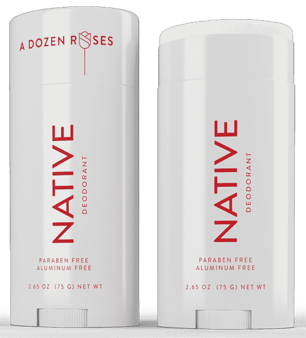 Native Deodorant Limited Edition ~ A Dozen Roses