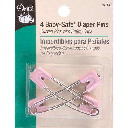 Dritz Diaper Pins | 4 Pack