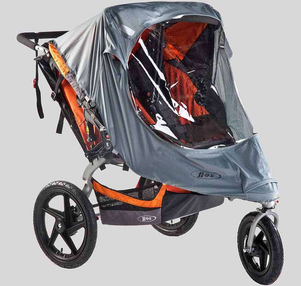 Bob | Duallie Weather Shield ~ Swivel Wheel