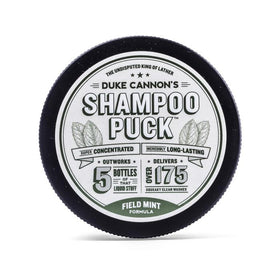 Duke Cannon - Shampoo Puck Field - Mint