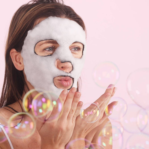 Masker Aide | Pore Cleansing Charcoal Bubble Mask
