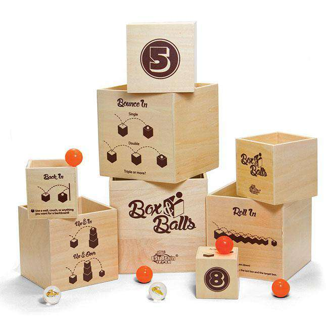 Fat Brain Toys | Box N Balls