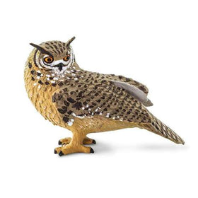 Safari LTD | Wings of the World Birds ~ Eagle Owl