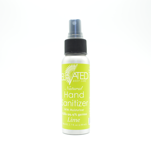 Elevated | Natural Hand Sanitizer (Lime)