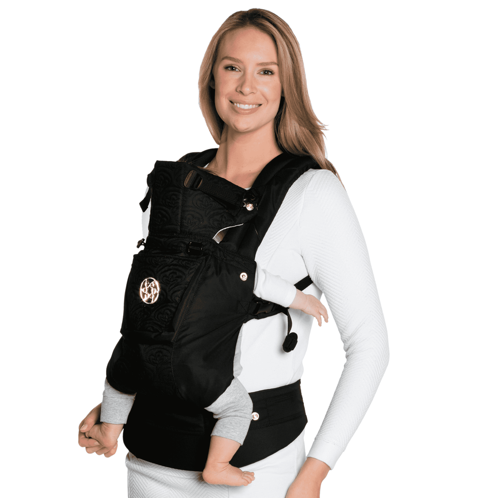 Lillebaby Carrier Complete Embossed Luxe | Noir