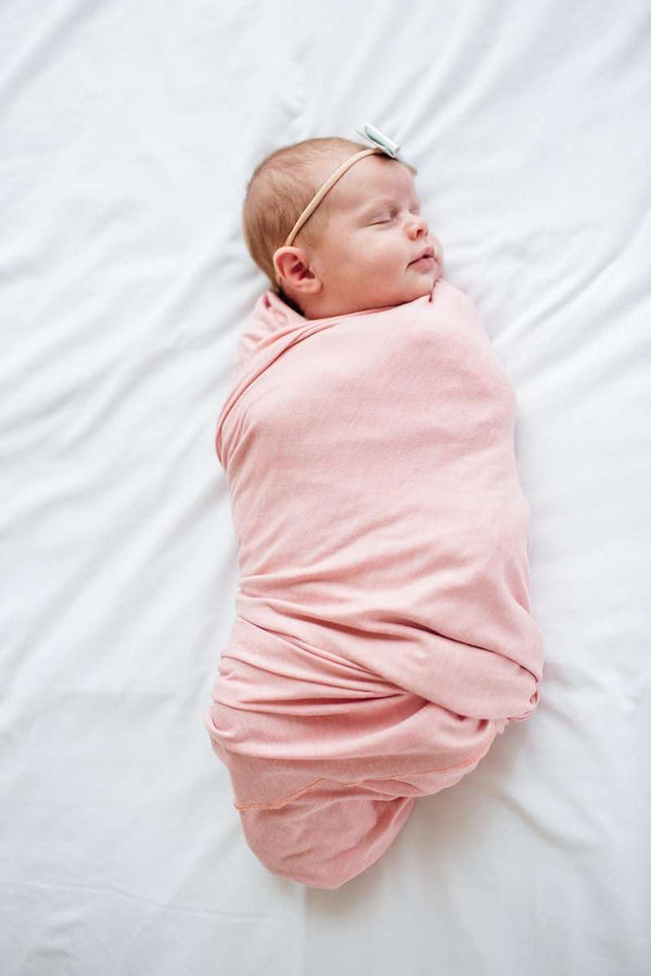Copper Pearl | Knit Swaddle Blanket  ~ Darling