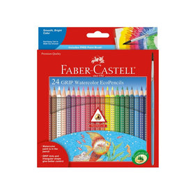 Faber - Castell | 24 Grip Watercolor EcoPencils