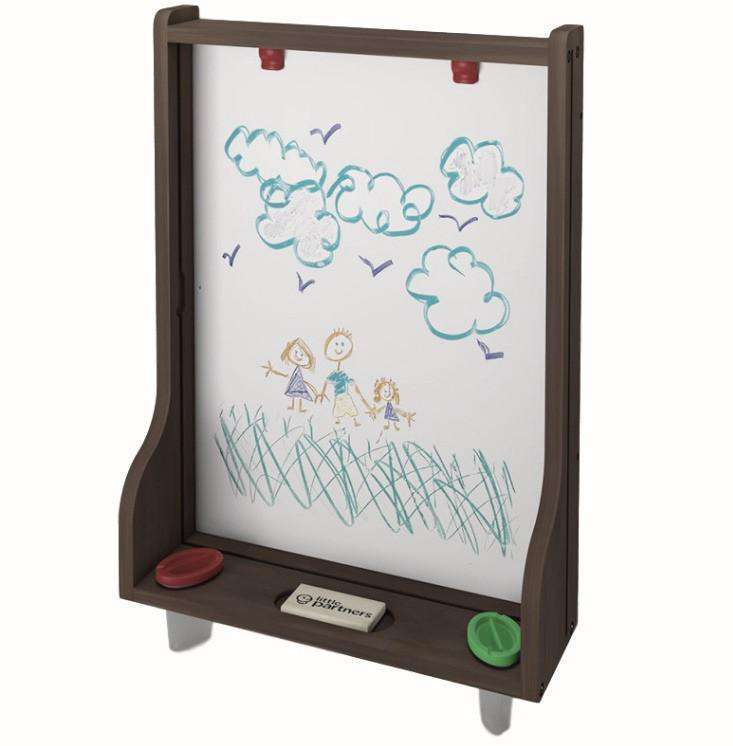 Little Partners Learn and Share Easel (Easel Only) | Espresso