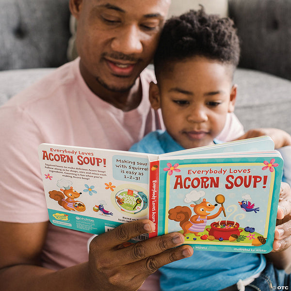 Peaceable Kingdom | Everybody Loves Acorn Soup! Board Book
