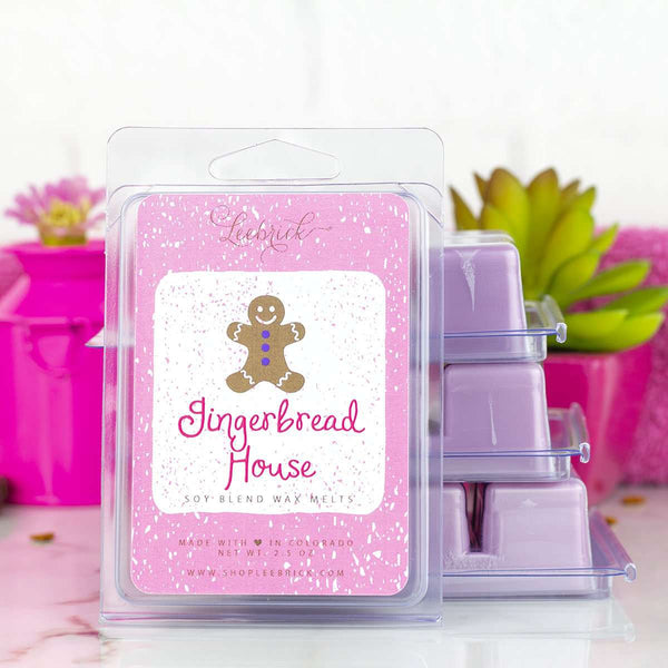 Leebrick - Gingerbread House Wax Melts
