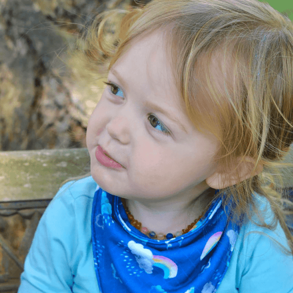 Smart Bottoms | Bandana Bib ~ Over The Rainbow