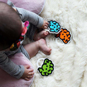 Fat Brain Toys | Brain Teether ~ Green