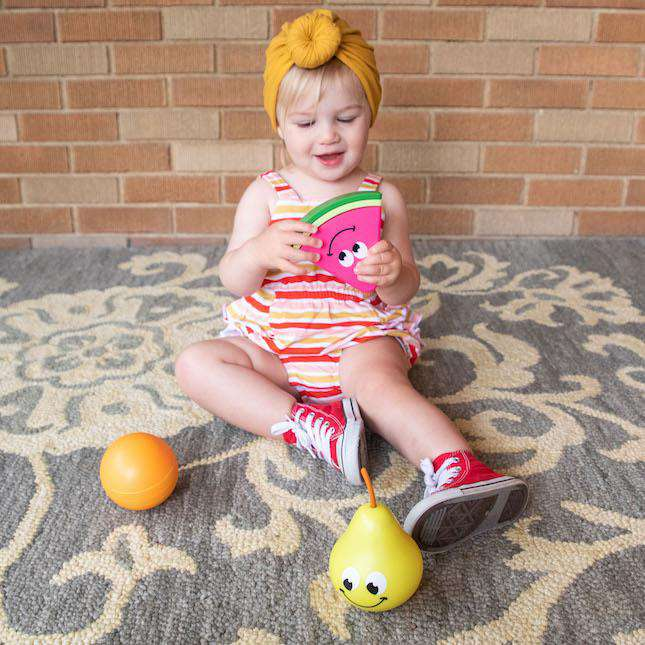 Fat Brain Toys | Fruit Friends 3-in-1 Toddler Toy