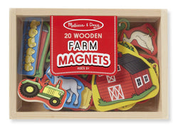 Melissa & Doug | Wooden Farm Magnets