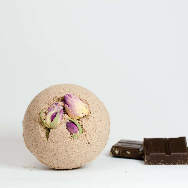 Verdant California - Chocolate Rose Bath Bomb **note item is loose or starting to crumble in packaging**