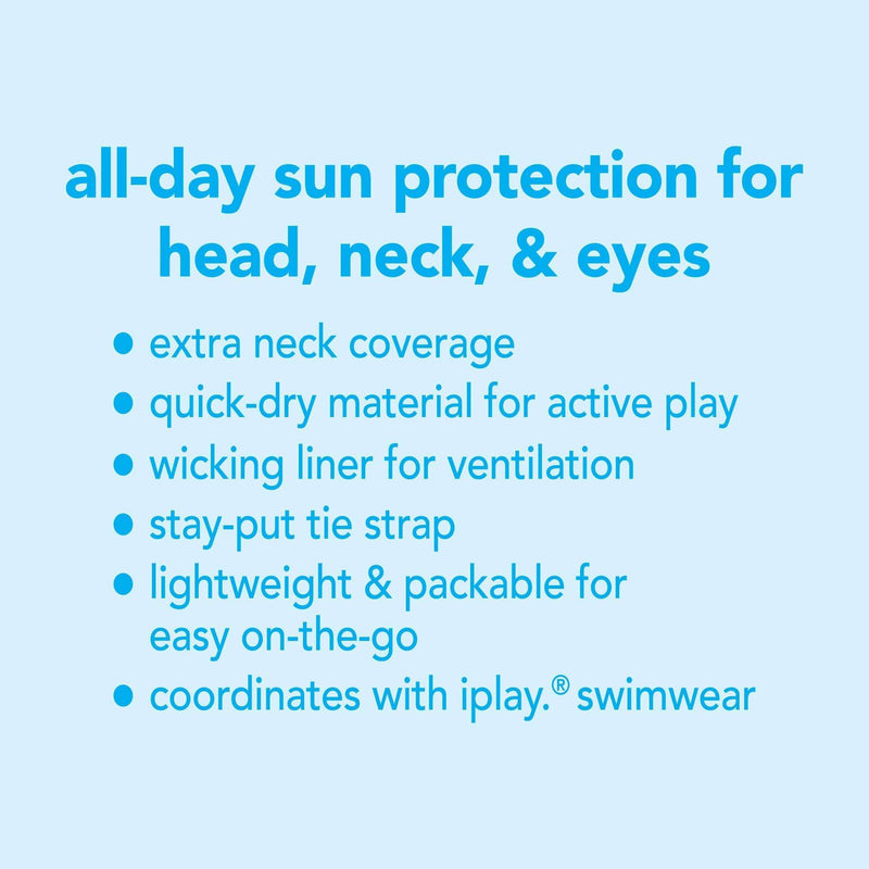 I Play | Flap Sun Protection ~ Lime Sealife