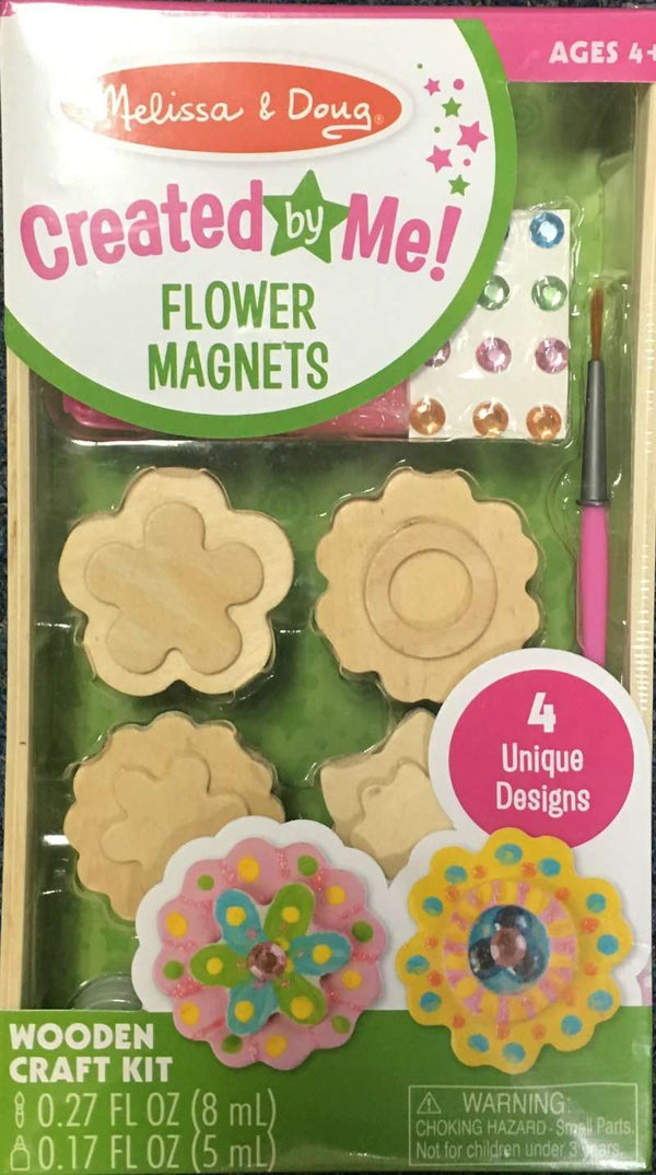Melissa & Doug | Created by Me | Flower Magnets