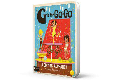 BabyLit Book | G is for GO-GO