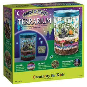 Creativity For Kids | Grow N' Glow Terrarium