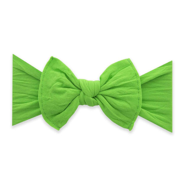 Baby Bling Bows | Classic Knot Headband ~ Neon Gecko