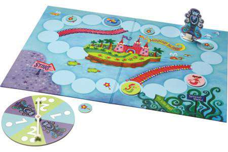 Peaceable Kingdom ~ Mermaid Island Skills Builder Game