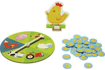 Peaceable Kingdom | Board Games ~ Count Your Chickens