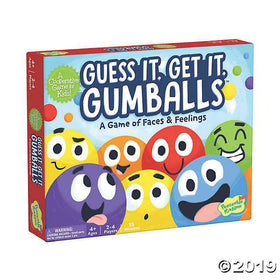 Peaceable Kingdom ~ Guess It, Get It Gumballs Cooperative Game for Kids