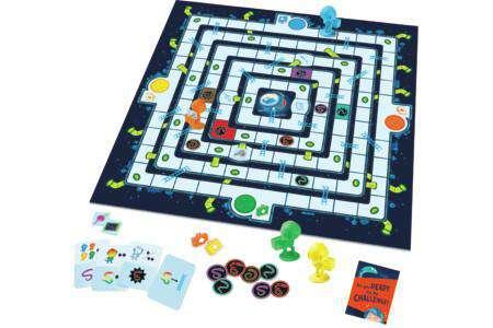 Peaceable Kingdom | Board Games ~ Mole Rats in Space Escape Cooperative Game