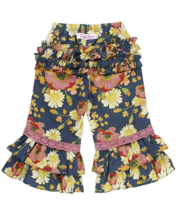 RuffleButts ~ Blossom Bliss Ruffle Pants