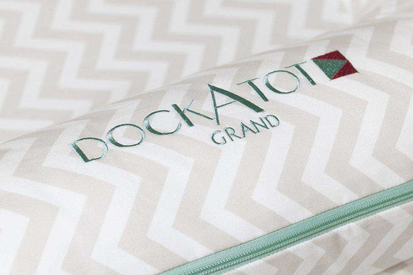 DOCKATOT COVER for Grand Dock - Silver Lining (dock sold separately)