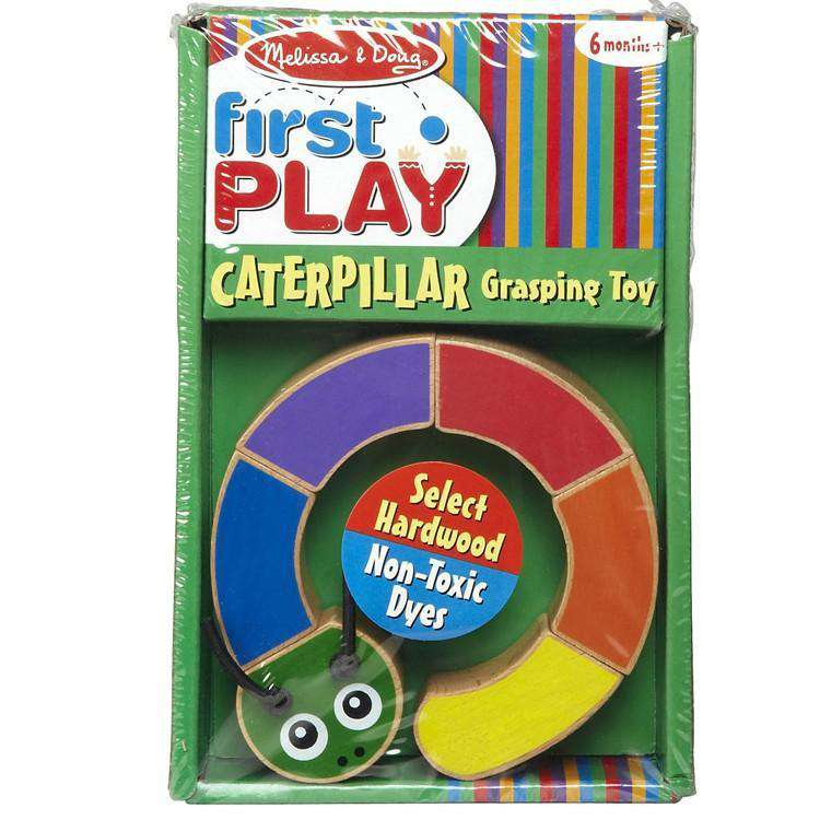 Melissa & Doug | First Play - Caterpillar Grasping Toy