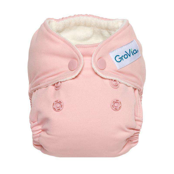 GroVia Newborn All-in-One Cloth Diapers - Crane