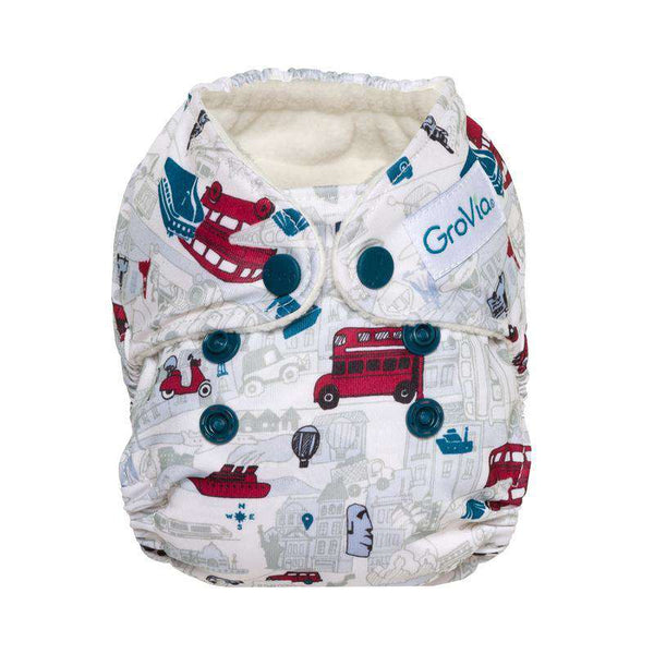 GroVia Newborn All-in-One Cloth Diapers - Have Baby Will Travel