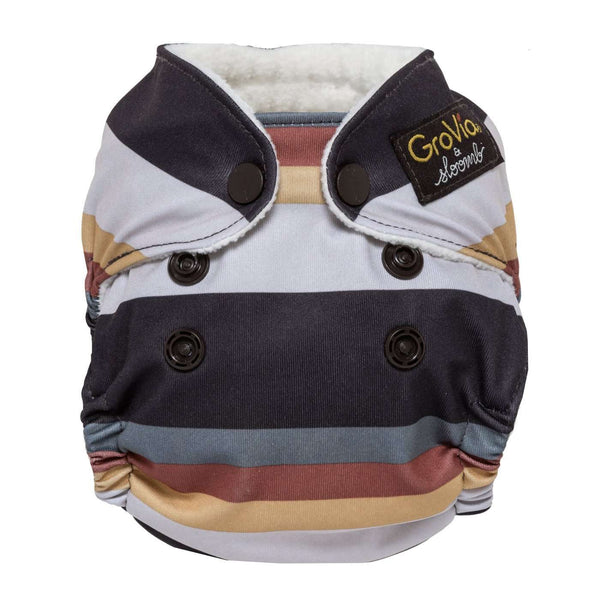 GroVia Newborn All-in-One Cloth Diapers - Fennec