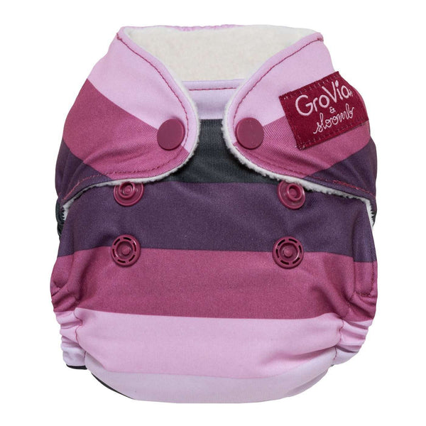 GroVia Newborn All-in-One Cloth Diapers - Sugar Rush