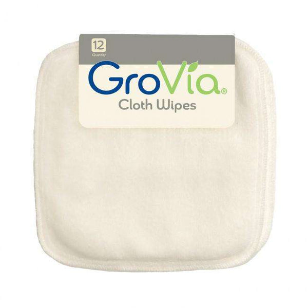 Grovia Cloth Wipes 12 pack