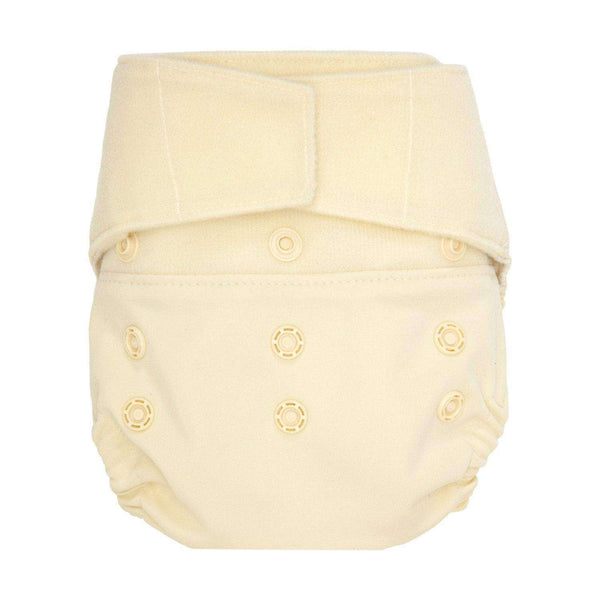 GroVia Diaper Shell Hook & Loop - Vanilla