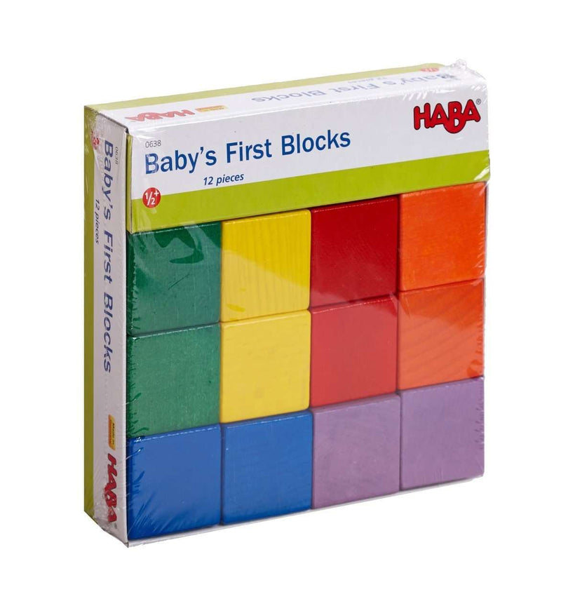 Haba | Baby's First Blocks (12 pieces)