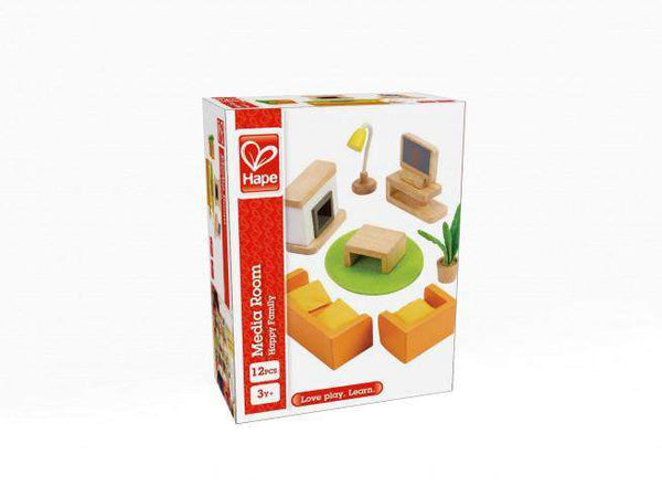 Hape | Dollhouse Additions ~ Media Room