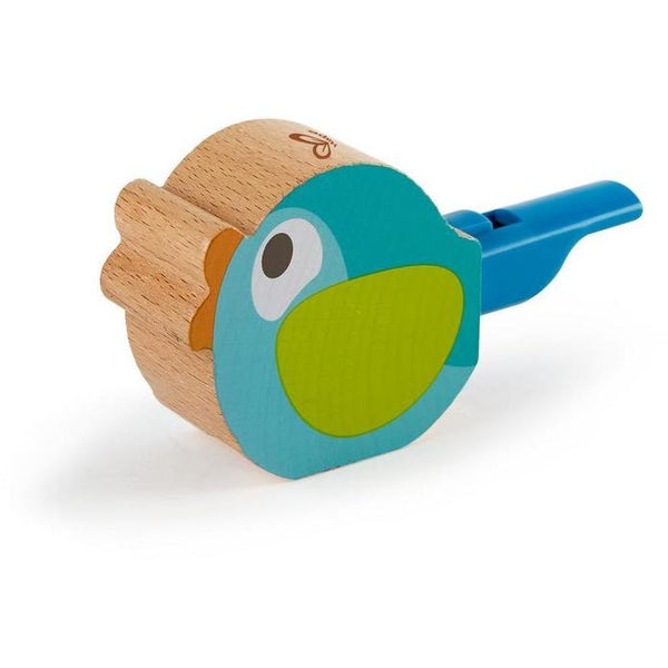 Hape | Turquoise Bird Call Whistle