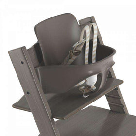 Stokke Tripp Trapp® Baby Set - Hazy Gray With Harness & Gliders