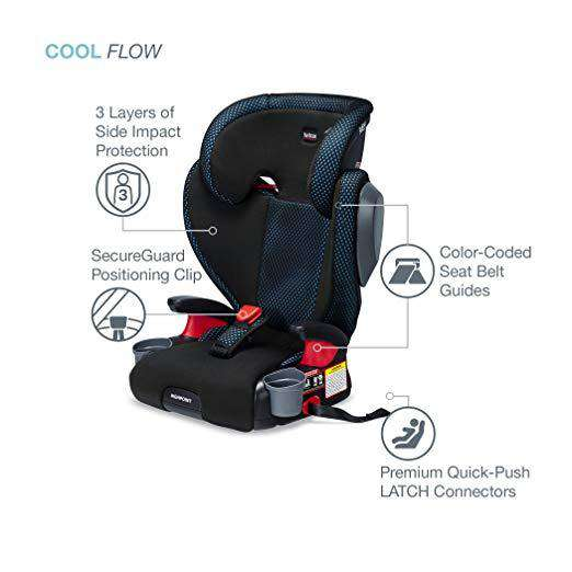 Britax | Highpoint Booster ~ Cool Flow Teal