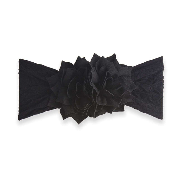 Baby Bling Bows | Holiday Collection ~ Black Poinsettia