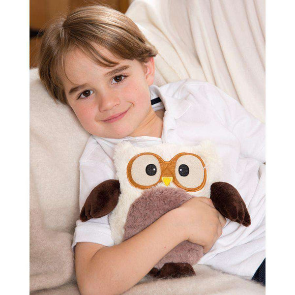 "Warmies | Warming Soft Toys ~ 9"" Hooty & Friends Cream"