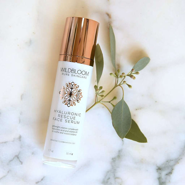 WildBloom Skincare - Hyaluronic Rescue Face Serum