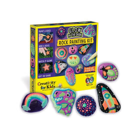 Creativity For Kids | Glow in the Dark Rock Painting Kit