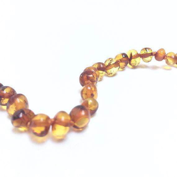 CanyonLeaf Polished Amber | Children's Necklace
